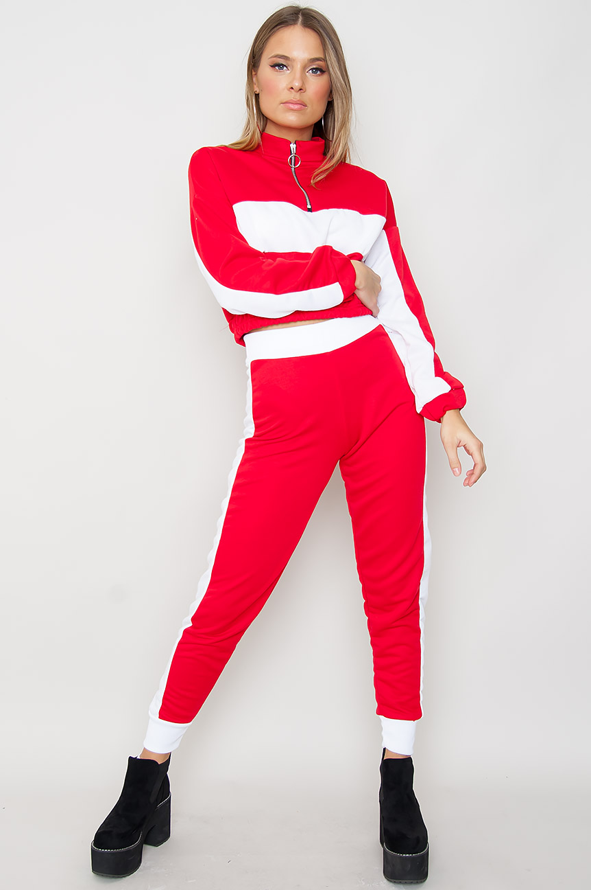 JFR Red / White Sporty Set - Jayla