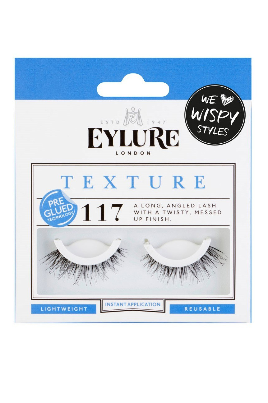 0675759c957 Eylure Texture No. 117 Lashes - Pre-Glued - Lösögonfransar - Ögon - Makeup