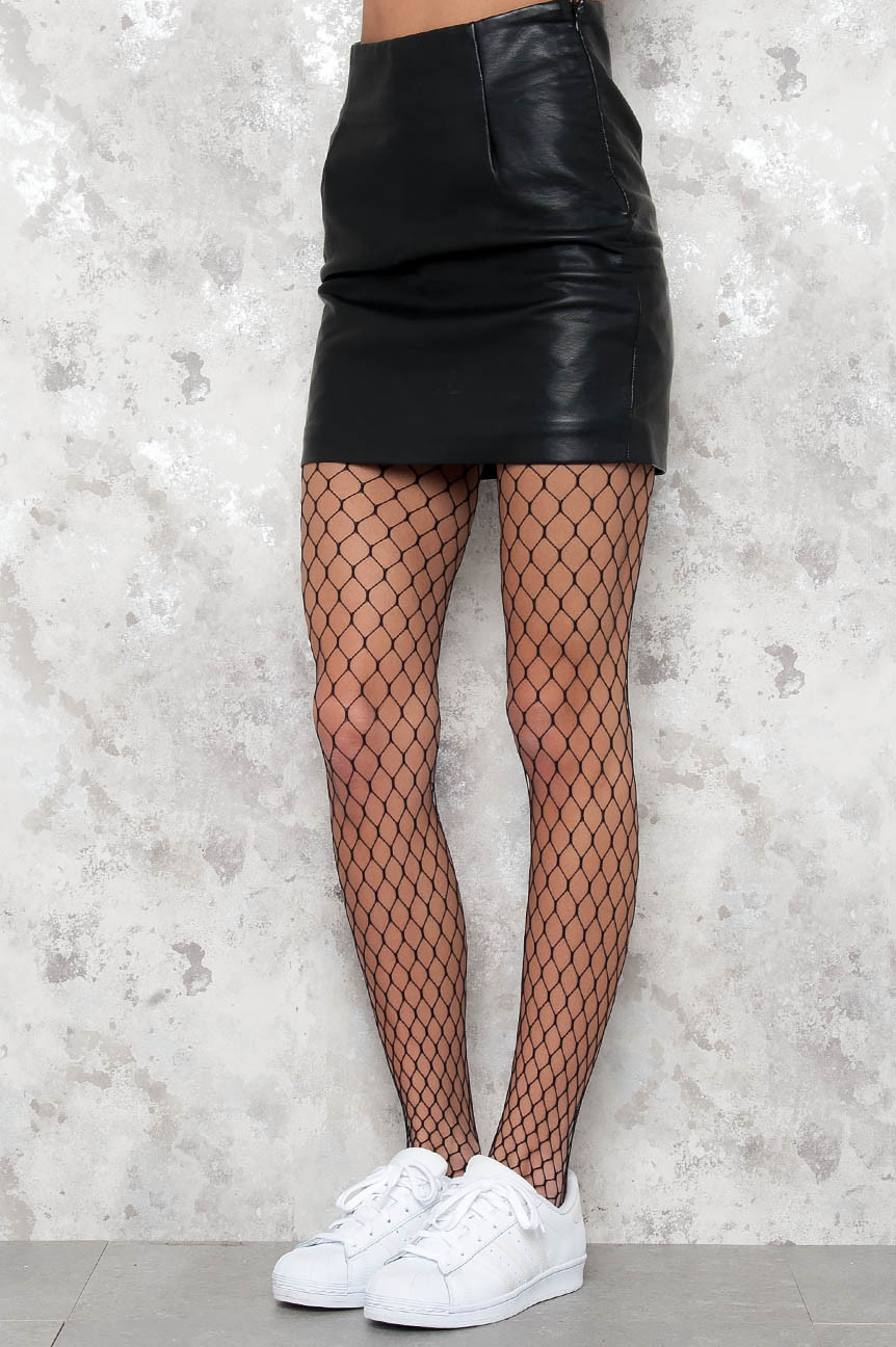 0f6821d1d220 Damn Big & Hot Fishnet Stockings - Black - Underkläder - Kläder