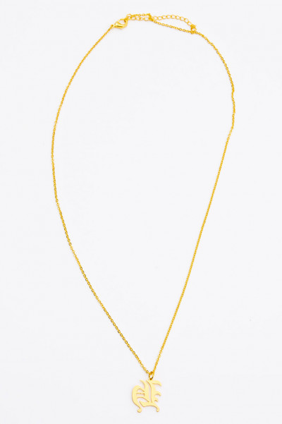 Gold Get Fierce Necklace