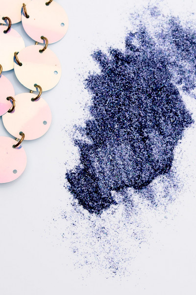 Deep Blue Magical Loose Glitter