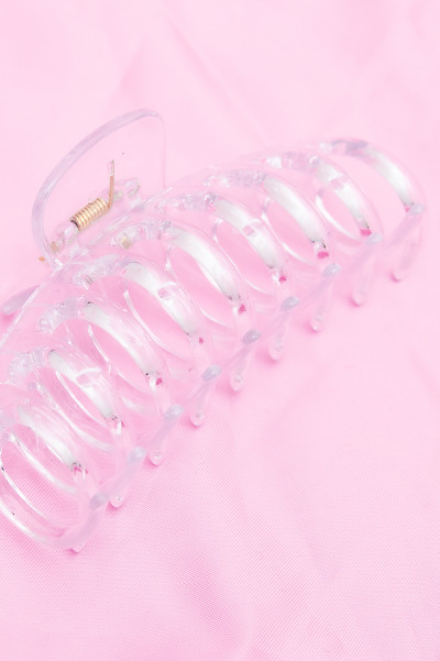 Transparent Hair Clip 11 cm