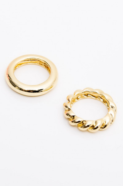 Ring - Chunky Gold