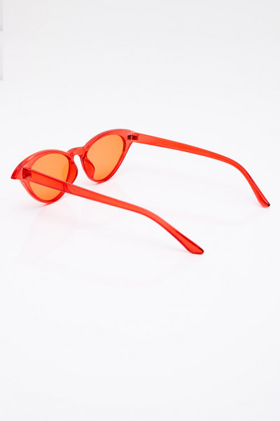 Girl On Fire Red Sunglasses