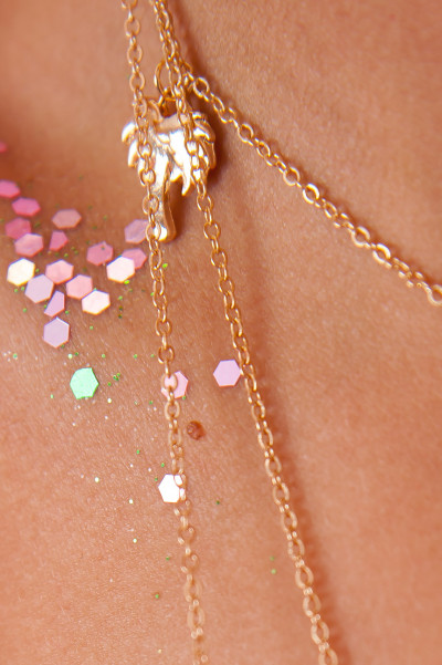 Layered Necklace - Seashell