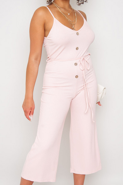 Sweet Summer Jumpsuit Pink