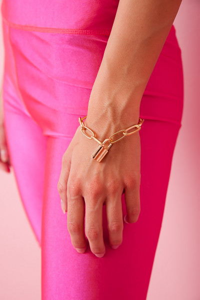 Armband - Locker Gold