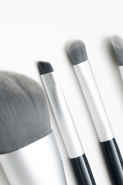 4 st Makeup Brush Set - Greyish