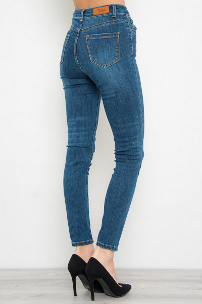 High Waisted Jeans - Hally