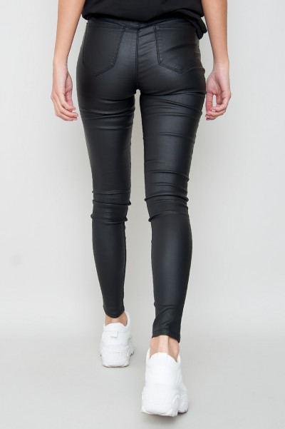 Faux Leather Pants - Highly