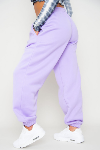 Bend The Rules Lilac Oversized Joggers