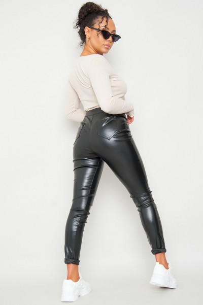 Hottest Babe Faux Leather Pants