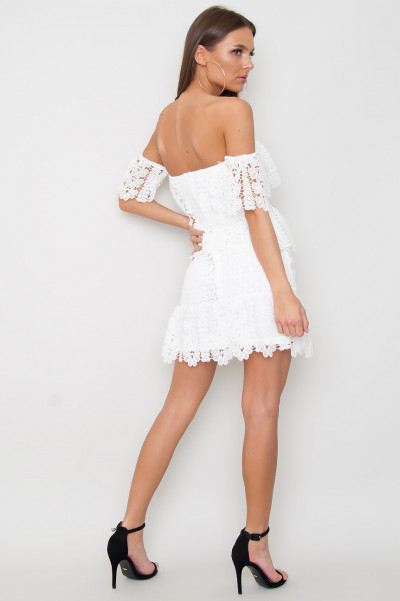 Bardot Lace Dress - Bedelia