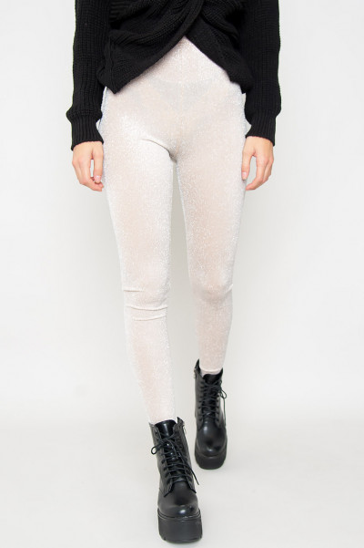 Sparkling Leggings - Tilly Beige