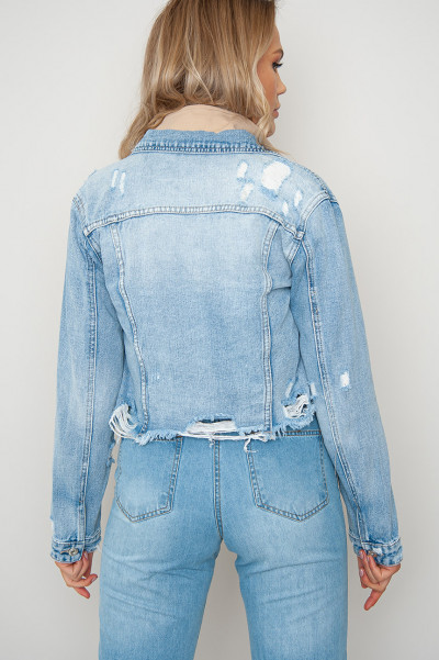Watch It Ripped Denim Jacket