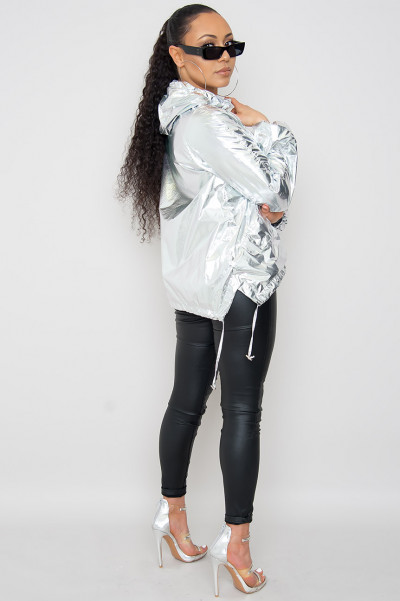 Icy Cosmo Queen Windbreaker