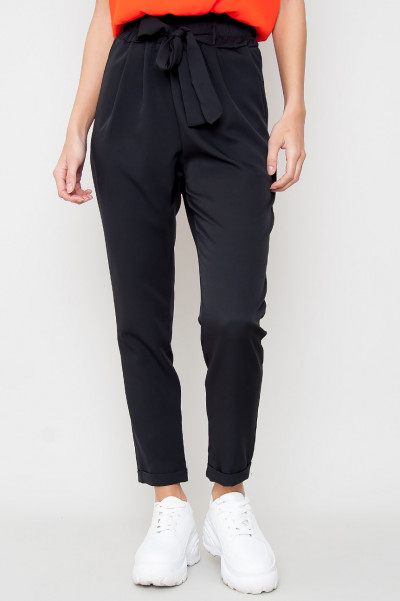 Paperpag Trousers - Elsie Black
