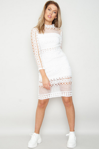 Something Sweet Bodycon Lace Dress