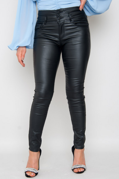 U Can't Handle Me Faux Leather Pants