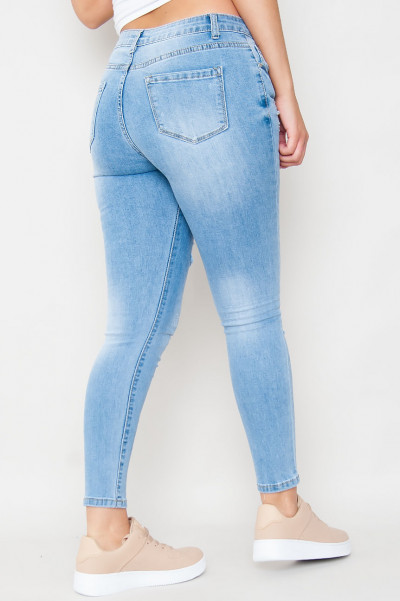 Be Like Me Ripped Jeans