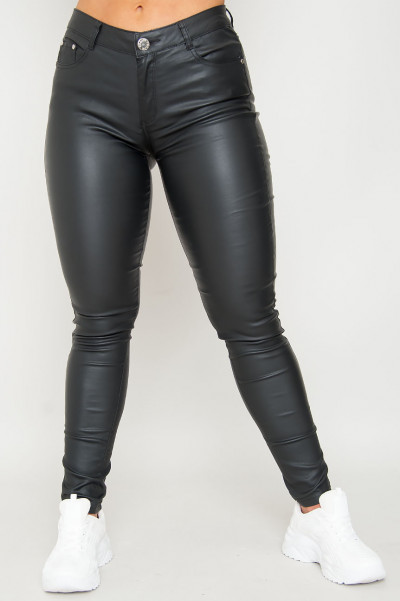 Want To Know Faux Leather Pants