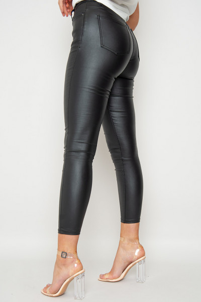 Land Of Queens Faux Leather Pants