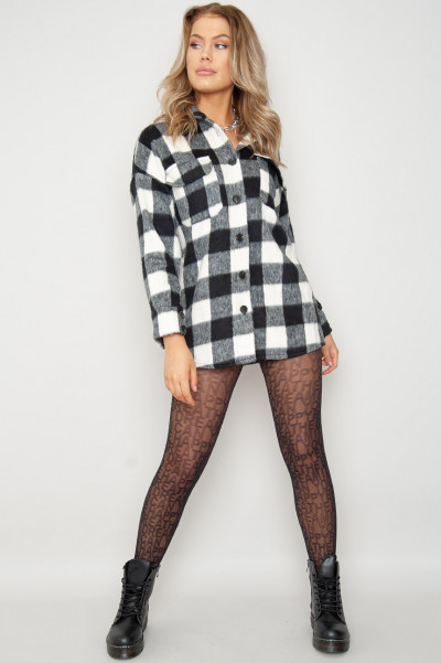 Stay Cool Letter Printed Tights