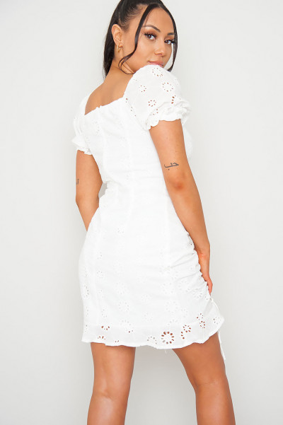Look At Her White Dress