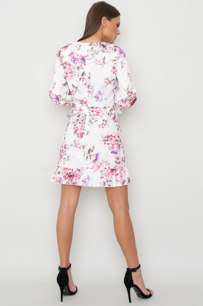 Floral Frill Dress - Pies