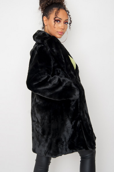 It's Our Time Faux Fur Coat