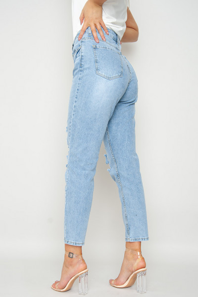 Ur All That Ripped Mom Jeans