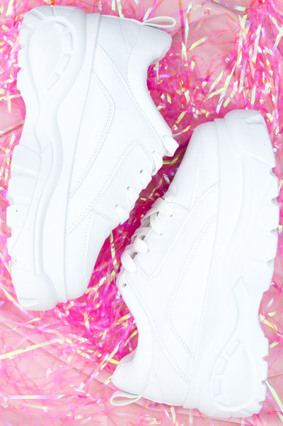 Chunky Sneakers - Kylie White