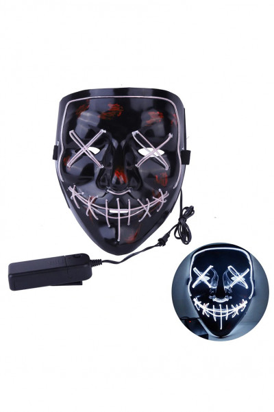 The Purge Led Mask White