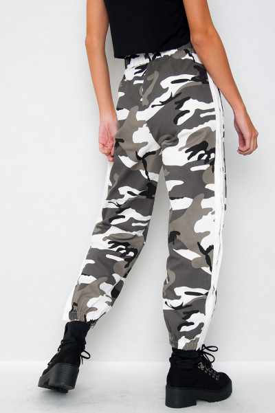 Camo Printed Popperpants
