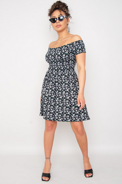 Hot Day Bardot Dress