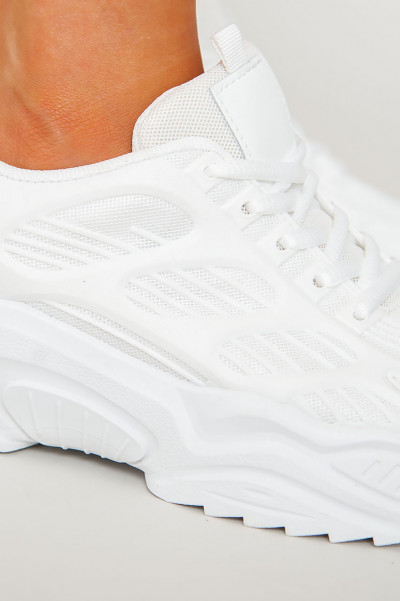 Sneakers - Electry White