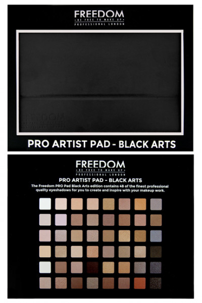 Freedom Makeup London - Pro Artist Pad Black Arts