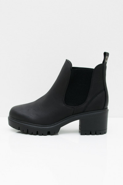 Marlow Heel Boot - Black