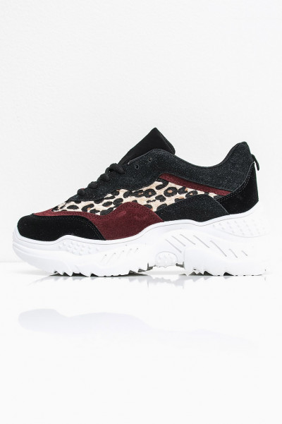 Chunky Sneakers Wine - Bowery