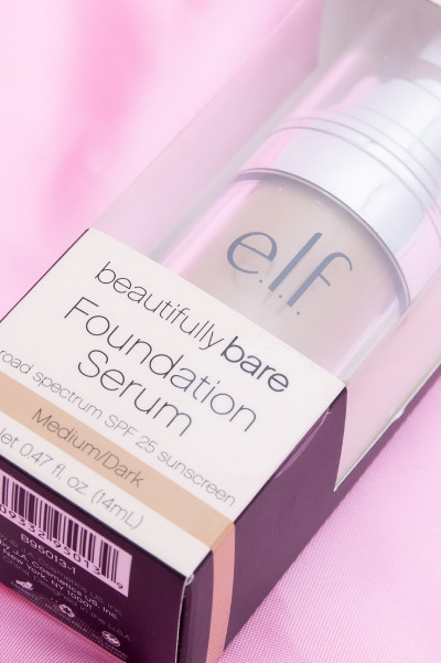 e.l.f. Beautifully Bare Foundation Serum - Medium/Dark
