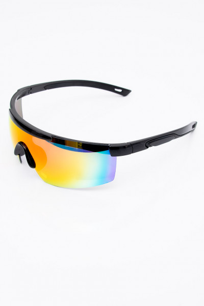 Party Rockers Rainbow Mirror Sunglasses