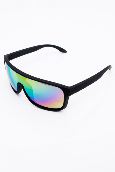 Nobody Asked You Rainbow Mirror Sunglasses