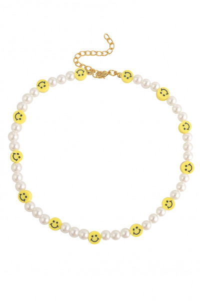 SMILE Pearl Necklace