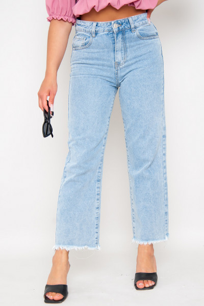 High Waisted Mom Jeans - Elly