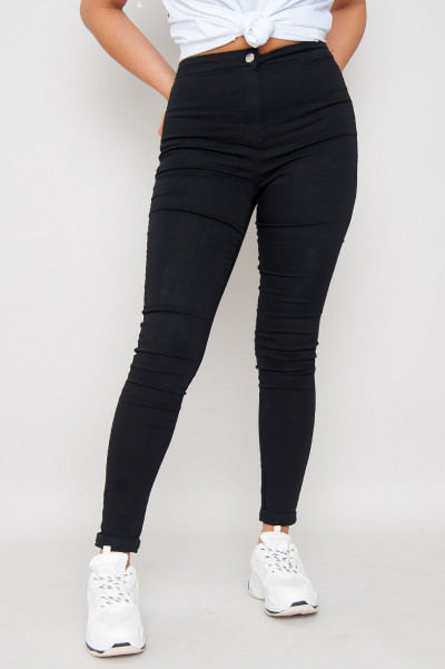 Jet Black Jeggings