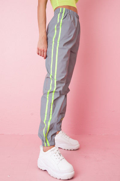 Reflective Trousers - Neon Crash