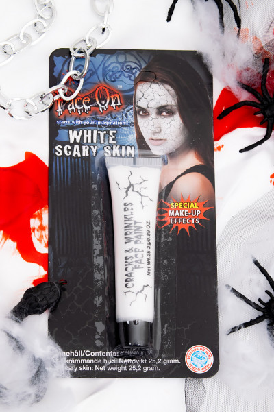Scary Skin Face Paint White 25.2 gram