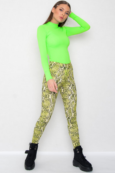 Neon Green Bodysuit - Mandy