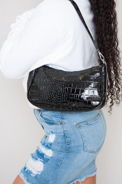 Shoulder Bag - Solar Black