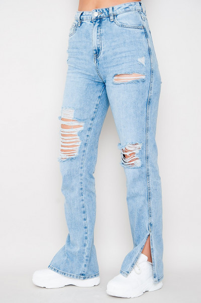 Feel The Pressure Ripped Jeans